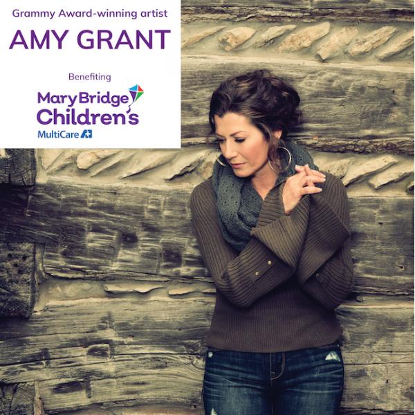 *Amy Grant Benefit for Mary Bridge Sat Dec 5 8pm PT - MultiCare