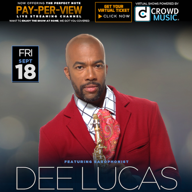 *Dee Lucas Virtual Concert, Fri Sept 18, 8pm ET, 7pm CT - TK Productions